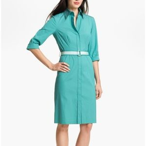 HUGO BOSS Dashina Shirtdress Size 8